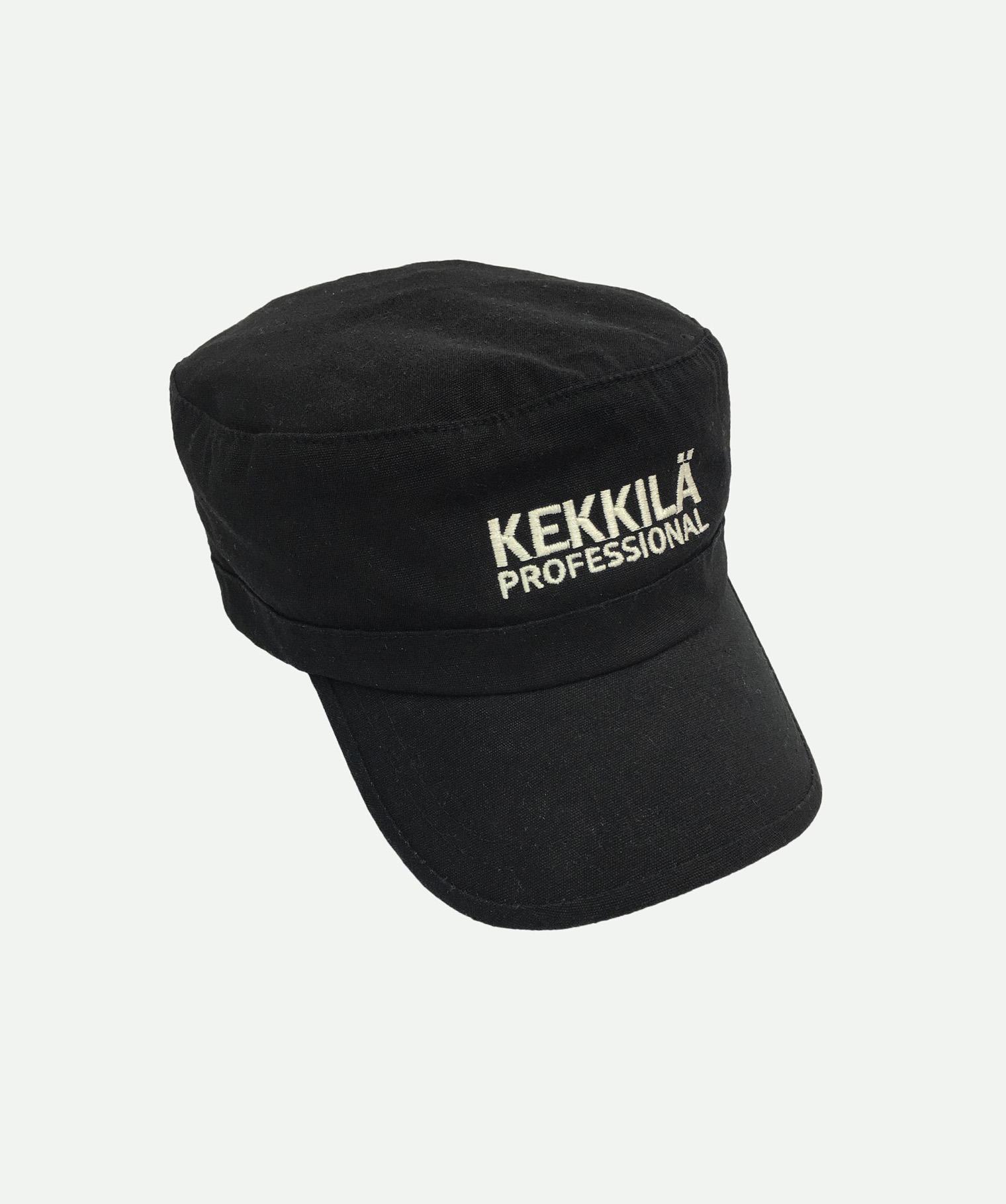 Gorra bordada cubana negra
