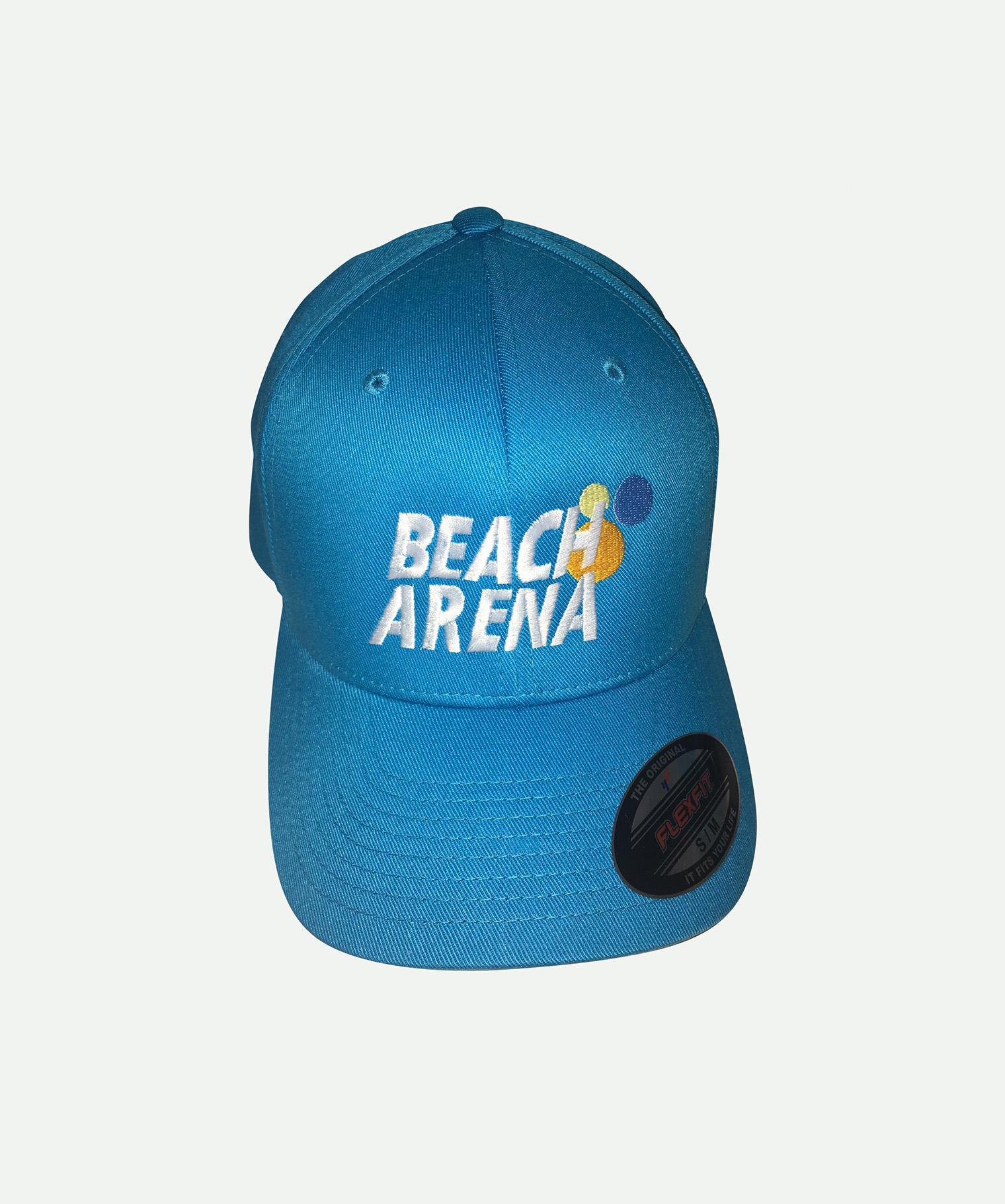 Gorra bordada flexfit azul